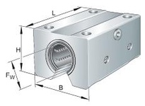 INA KTBO16PPAS Linear precision tandem unit