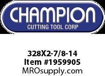 Champion 328X2-7/8-14 HS ROUND SCREW ADJ DIES