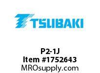 US Tsubaki P2-1J P2 1-5/8 SPLIT TAPER BUSHING