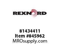 REXNORD 81434411 HP820K4.5 E2 3/16D .375C