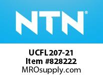 NTN UCFL207-21 Oval flanged bearing unit