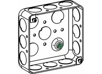 Orbit D4SB-50 4S DRAWN BOX 1-1/2^ DEEP 1/2^ KO