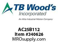 TBWOODS AC25B112 HUB AC25-1.500 DIA NO KW CL B