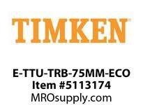 TIMKEN E-TTU-TRB-75MM-ECO TRB Pillow Block Assembly