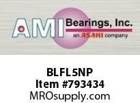AMI BLFL5NP 25MM NARROW SET SCREW NICKEL 2-BOLT BALL BEARING