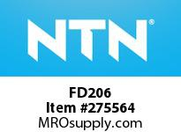 NTN FD206 CAST HOUSINGS