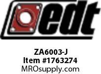 EDT ZA6003-J SS RADIAL BALL BRG W/ FG SOL