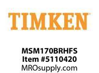 TIMKEN MSM170BRHFS Split CRB Housed Unit Assembly