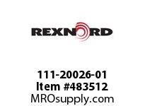 REXNORD 111-20026-01 BRKT*HNGR 7DRP 2-HOLE E 6468791