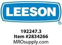 Leeson 192247.3 1HP-0.75kW1800RPM.D80C.TEFC.230/460 V.3PH.60HZ.CONT.40CB3 / B14 :