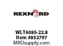 REXNORD WLT6085-22.8 LT6085-22.8 LT6085 22.8 INCH WIDE MATTOP CHAIN
