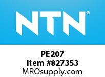 NTN PE207 Bearing Units - Cast Housing