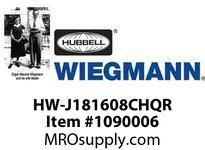 WIEGMANN HW-J181608CHQR JICSHQRGRAY17.69X15.69X8.45
