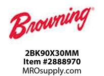 Browning 2777472 2BK90X30MM FHP CI F/B SHEAVES