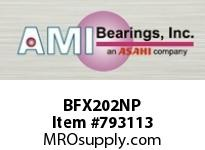 AMI BFX202NP 15MM NARROW SET SCREW NICKEL 2-BOLT BALL BEARING