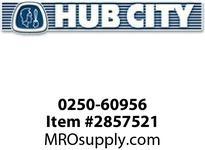 HUB CITY 0250-60956 HERA45PK 39.98 182TC KLS HERA