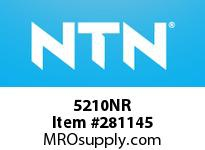 NTN 5210NR DOUBLE ROW ANGULAR CONTACT BB