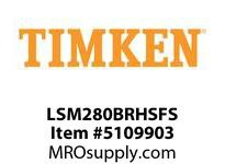 TIMKEN LSM280BRHSFS Split CRB Housed Unit Assembly