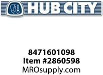 HUB CITY 8471601098 SHIM 2.175X2-1/2X.031 Service Part
