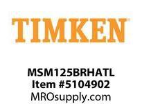 TIMKEN MSM125BRHATL Split CRB Housed Unit Assembly