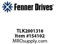 """FENNER TLK2001316 TLK200 - 1-3/16"""""""