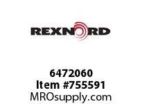 REXNORD 6472060 18-GC6400-01 IDL*45TRGH STL EQ R/G