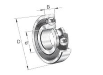 FAG 6024.2RSR RADIAL DEEP GROOVE BALL BEARINGS