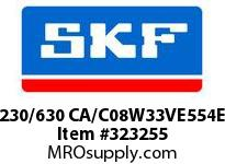 SKF-Bearing 230/630 CA/C08W33VE554E