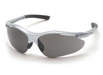 Pyramex SS3720D Silver Frame/Gray Lens