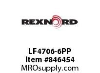 REXNORD LF4706-6PP LF4706-6 PP ROD LF4706 6 INCH WIDE MATTOP CHAIN WIT