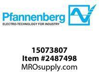 Pfannenberg 015073807 Pa nel Mount Gasket for P 28 DMx Sealing Gasket