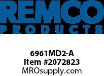 """REMCO 6961MD2-A Remco MD Scraper Scraper- 3""""- Metal Det.- Green- Mod"""