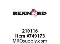REXNORD 210116 588892 101.DBZ.CPLG STR TD