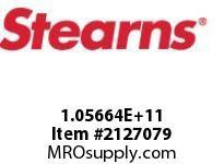STEARNS 105664100002 BRK-SPEC THRU SHAFT 8012590