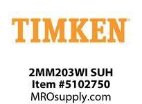 TIMKEN 2MM203WI SUH Ball P4S Super Precision