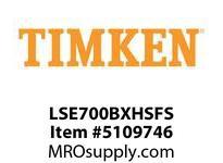 TIMKEN LSE700BXHSFS Split CRB Housed Unit Assembly