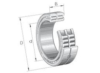 INA SL014838 Cylindrical roller bearing-full com
