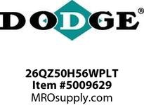 DODGE 26QZ50H56WPLT TIGEAR-2 E-Z KLEEN RED-WHITE-LOW TEMP GEAR PRODUCTS