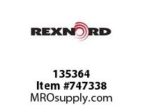 REXNORD 135364 18212 500.S52.CMBRA TD C=9.00