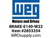 WEG BRAKE-E140-W22 BRAKE KIT 140 16Nm Motores