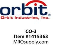 Orbit CO-3 12V SNAP CONNECTOR UP TO 10-2