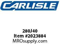 Carlisle 280J40 Vee Rib J