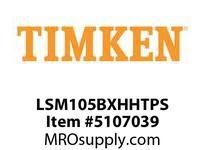 TIMKEN LSM105BXHHTPS Split CRB Housed Unit Assembly