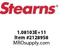 STEARNS 108103202081 CRANE DUTY-VAHTB/DRN-TB 8010364