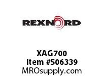 XAG700 CARTRIDGE BLOCK W/HD BEAR 138438