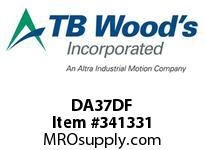 TBWOODS DA37DF REPAIR KIT DBL DA/DP37 MT DISC