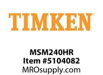 TIMKEN MSM240HR Split CRB Housed Unit Component