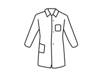 West Chester 3514/M SBP White Lab Coat Chest and Hip Pocket - Standard Weight