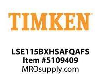 TIMKEN LSE115BXHSAFQAFS Split CRB Housed Unit Assembly