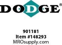 DODGE 901181 MTA1107H24T 210TC TORQUEARM RED